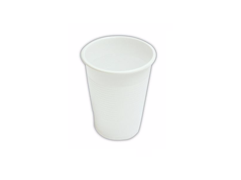 Plastic White Cup