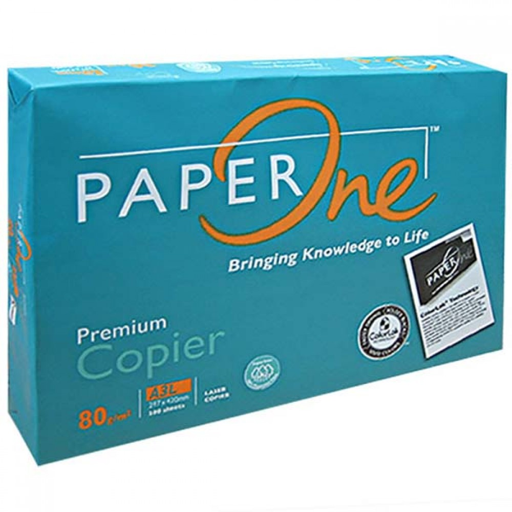 Paper One A3 80gsm (500sheets)