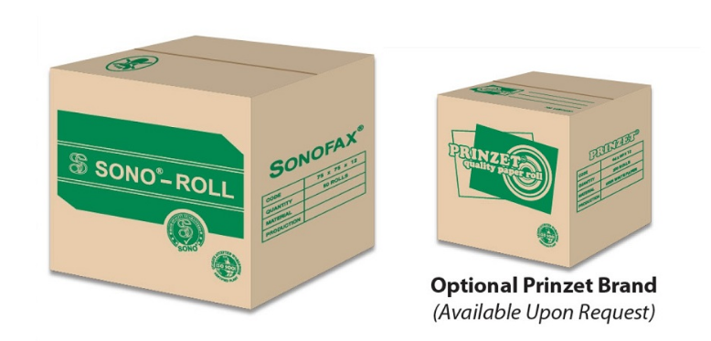 Sono-Roll/ Optional Prinzet Brand available Upon Request
