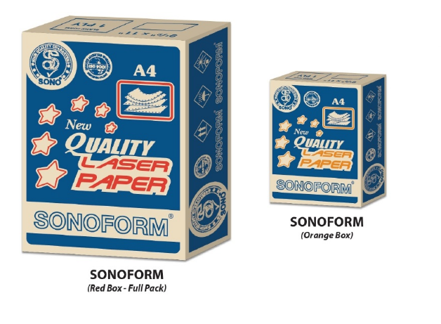 Sonoform 1 Ply A3 Woodfree