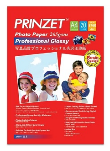 PRINZET Professional Glossy ( Resin Coated )