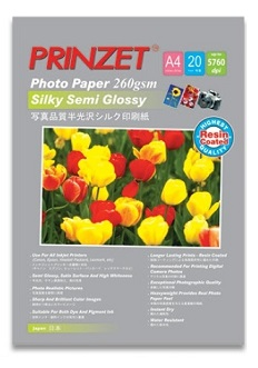 PRINZET Silky Semi Glossy ( Resin Coated )
