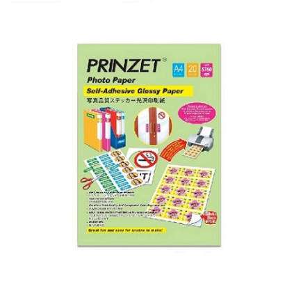 PRINZET Self-Adhesive Glossy Paper
