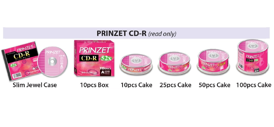 PRINZET CD-R ( read only )