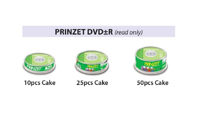 PRINZET DVD±R ( read only )