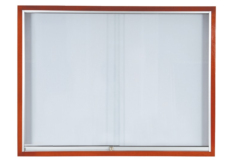 WRITEBEST SLIDING GLASS CABINET