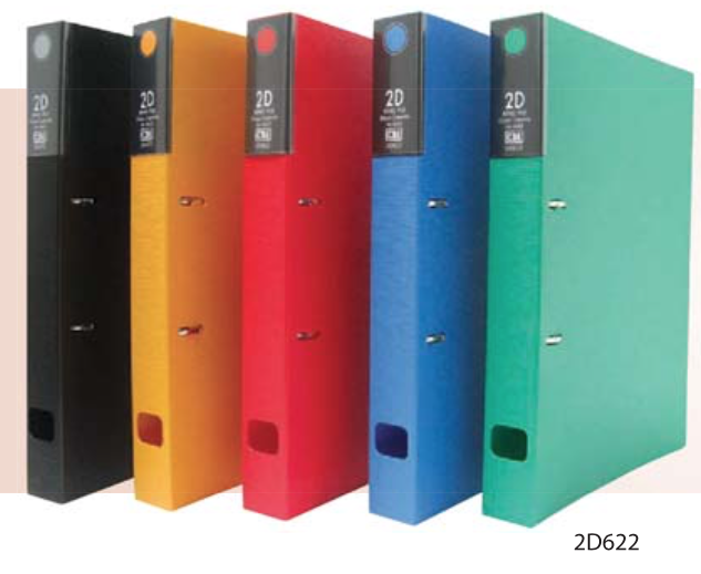 CBE PP-2D RING FILE (A4)