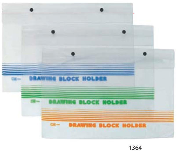 CBE PVC DRAWING BLOCK HOLDER