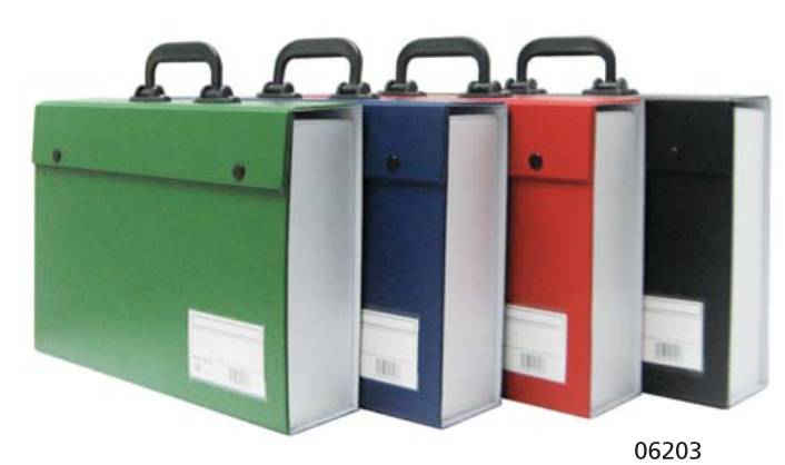 CBE PVC BOX FILE (with handle)