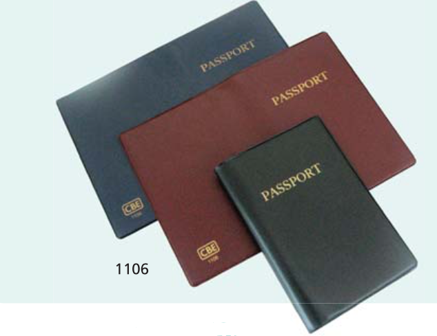 CBE PVC PASSPORT HOLDER