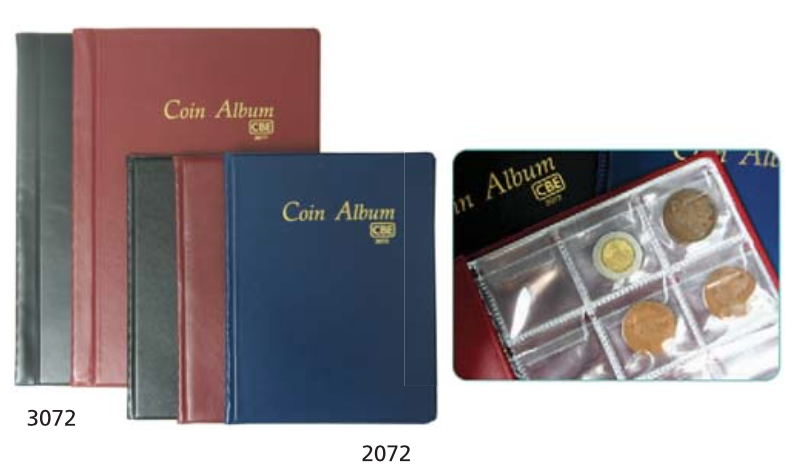 CBE PVC COIN ALBUM