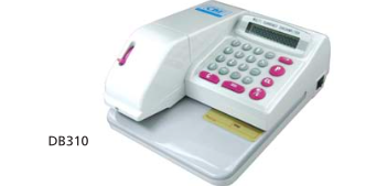 CBE DB310 ELECTRONIC CHEQUE WRITER