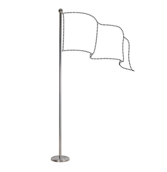 WRITEBEST INDOOR FLAG POLE