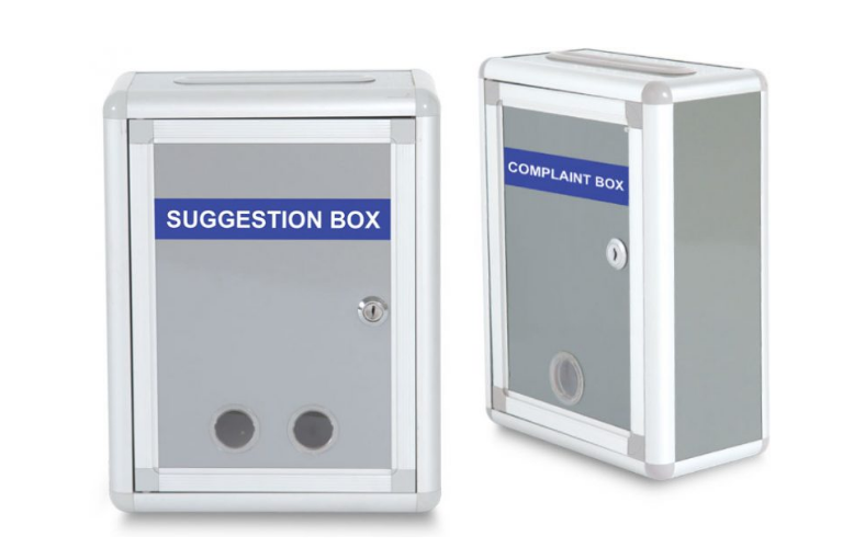 WRITEBEST COMPLAINT AND SUGGESTION BOX