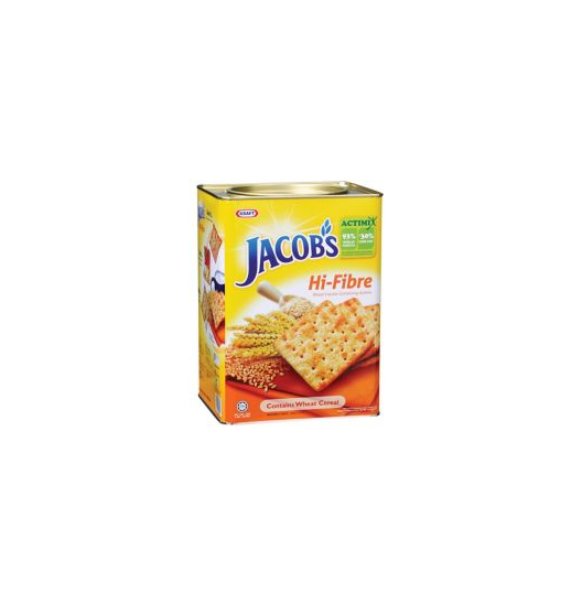 Jacob's Crackers Hi-Fibre