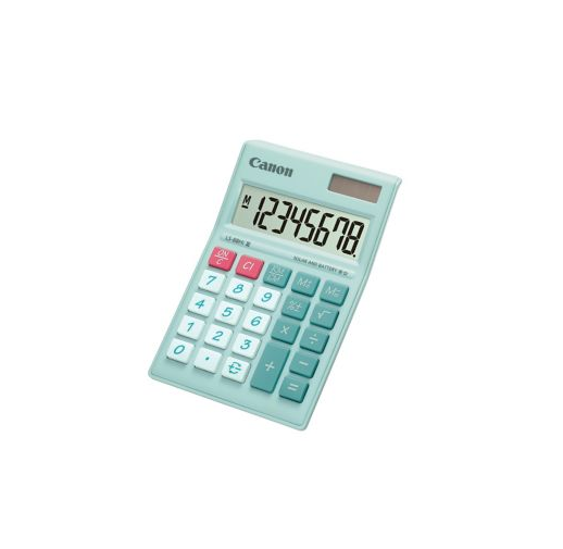 Canon LS-88Hi III Portable Calculator Pastel Green