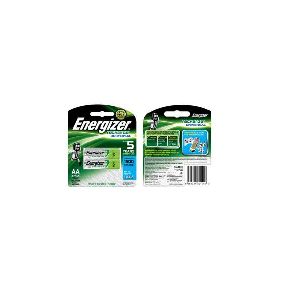 Energizer Rechargeable Batteries AA x 2