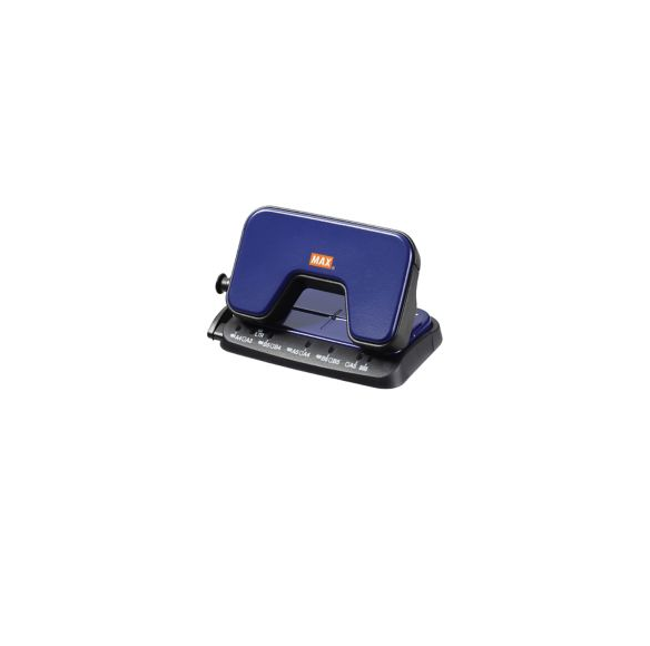 Max DP-15T 2 Holes Punch Blue