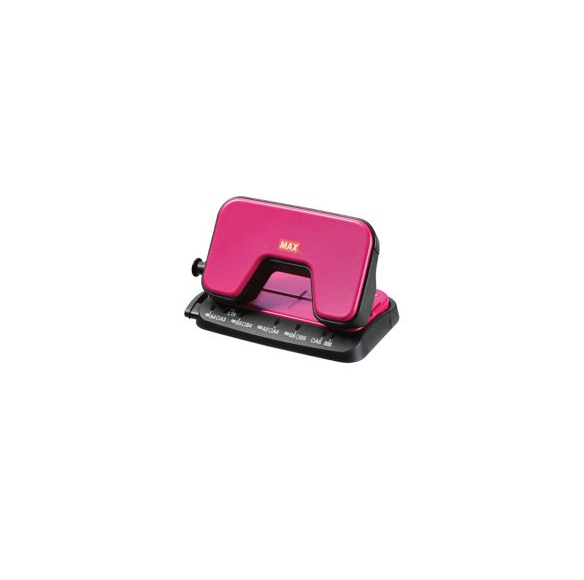 Max DP-15T 2 Holes Punch Pink