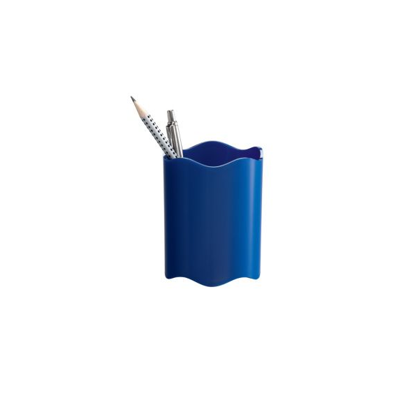 Durable Pen Cup Blue