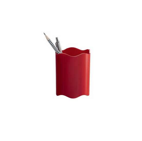 Durable Pen Cup Red