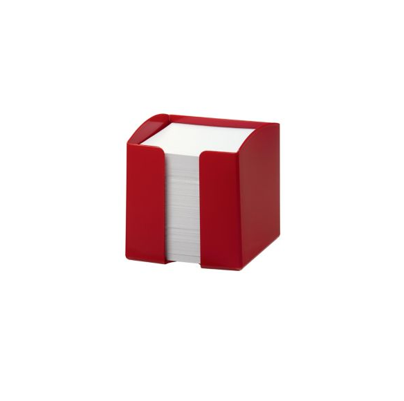 Durable Note Box Red