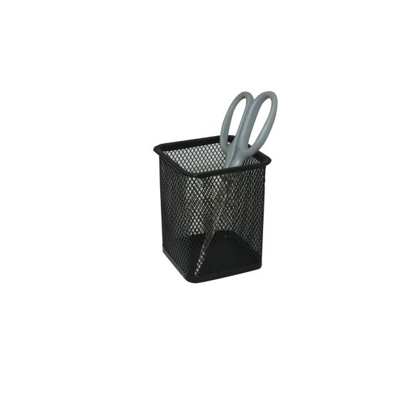 Metal Pen Holder Square