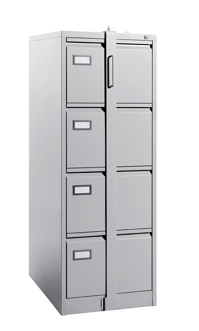 GY122-GN 4 DRAWER FILING CABINET