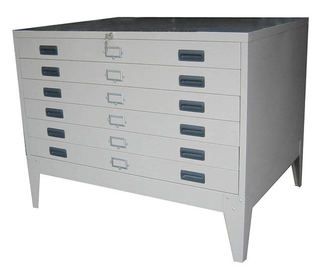 GY701 HORIZONTAL PLAN FILE CABINET(SMALL)
