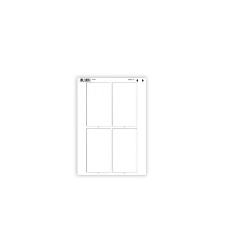 COLOP Imagecard Sheet A4 Printer 40